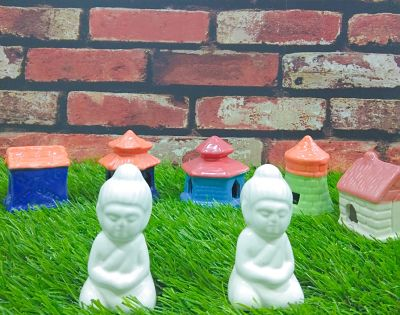 Ceramic Buddha Miniatures